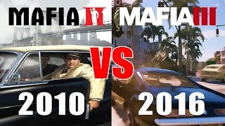 Скачать Mafia 2 VS Mafia 3 Comparativa 2010 VS 2016