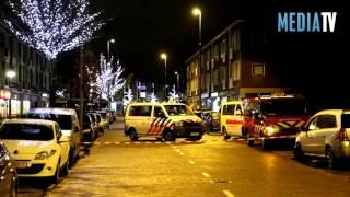 Flink gaslek op Burgemeester Baumannlaan Rotterdam