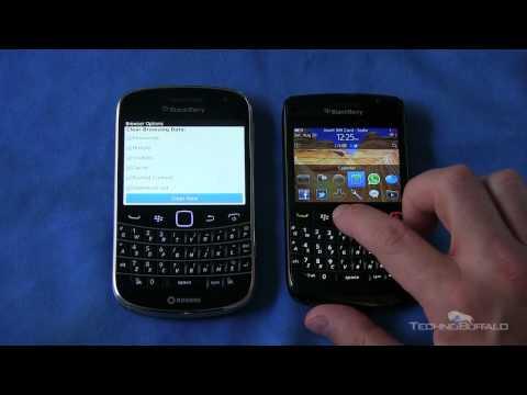BlackBerry 9900 vs. BlackBerry 9780