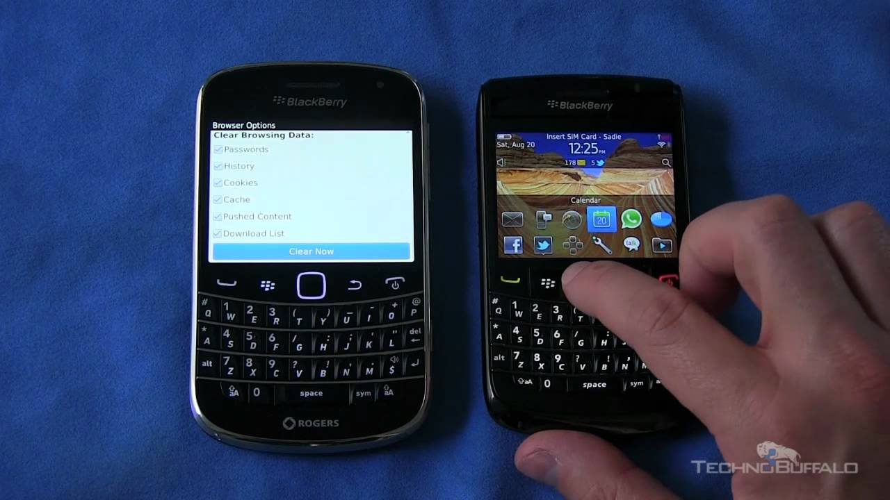 how to setup email on blackberry bold 9780