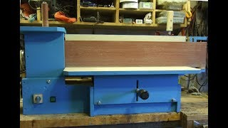 Homemade oscillating edge - spindle sander