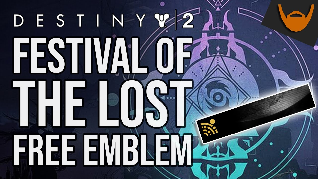 Destiny 2 Festival Of The Lost 2020.Destiny 2 Festival Of The Lost Free Emblem Bungie Rewards