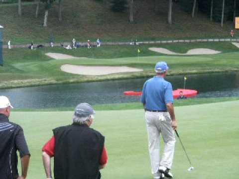 Sandy Koufax golfing Cromwell Ct 2009