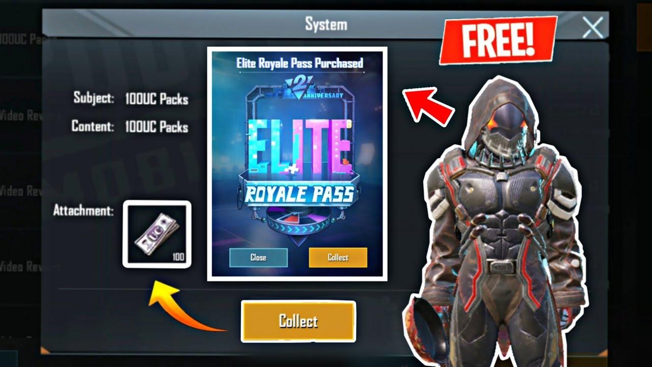 How To GET FREE ELITE ROYAL PASS IN PUBG MOBILE !! FREE ELITE PASS SEASON 12 Secret Trick