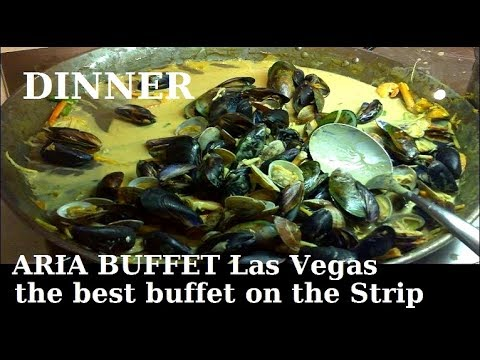 Aria (Vegas) Buffet: Dinner - Best Buffet on the Strip and this is why... From top-buffet.com