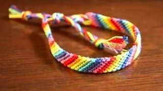 видео Как плести фенечку косым плетением: инструкция по косому плетению фенечек