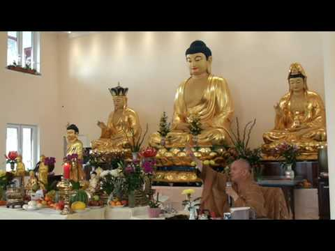 Tam thời hệ niệm  Chùa Phước Nghiêm Leipzig 2016  Thượng Tọa Thích Phật Đạo Thuyết Giảng  9