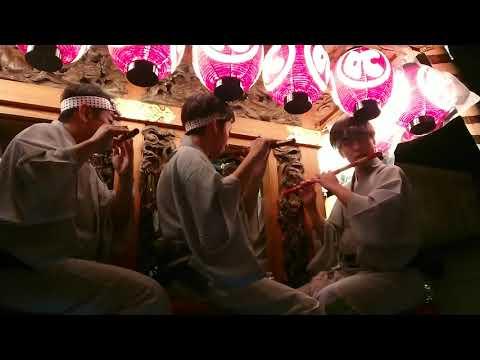踊り下座令和元年 佐原の大祭 夏祭り 中日 仁井宿 潮来芸座連
