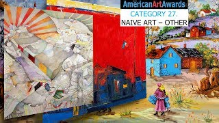 WORLD'S BEST NAIVE ARTISTS PER AMERICAN ART AWARDS