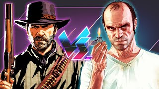 Red Dead Redemption 2 Vs. Grand Theft Auto V | Versus
