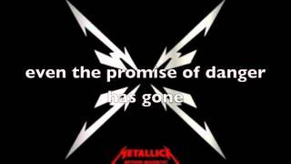 metallica just a bullet away lyrics