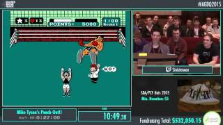 AGDQ 2015 Mike Tyson's Punch-Out!! - Speed Run (22:07) by Sinister1