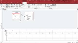 MS Access 2016 - إنشاء الاستعلامات الفرعية