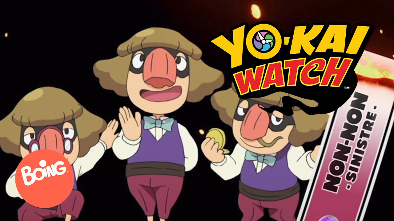 Non non ep 7 yo kai watch boing youtube for Chambre yo kai watch