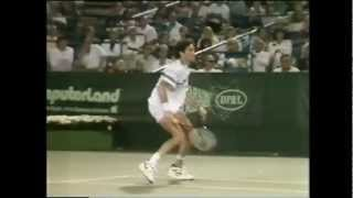 Boris Becker vs Brad Gilbert 1989 Cincinnati 5/5