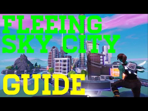 How To Complete Fleeing Sky City By Makamahon123 - Fortnite Creative Guide