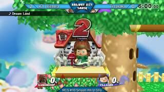 RCS #10 Smash Wii U GFs - xD   Vishera (Jiggs, Ganon) vs Troykaka (Villager)