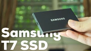 Samsung T7 Portable SSD Review : Best In Class!