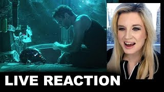 Avengers 4 Trailer REACTION