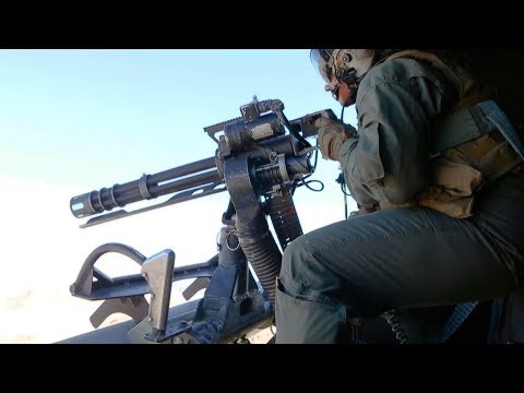 U.S. Marines Offensive Air Support Drill