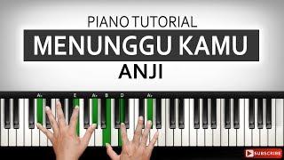 Download lagu Belajar Piano MENUNGGU KAMU - Anji | Part 1 | Belajar Piano Keyboard
