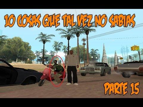 GTA San Andreas 10 Cosas que tal vez no sabías (Parte 15) - Loquendo