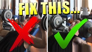 The PROPER Way To Lift Weights (Stop Doing This!)