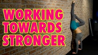 How to work towards STRONGER with Natalie Jill