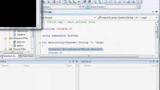 Обзор интерфейсов Microsoft Visual C++ и C++ Builder
