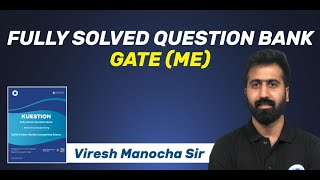 KUESTION   Fully Solved Question Bank for GATE (ME)   Important GATE Questions   Launched screenshot 1