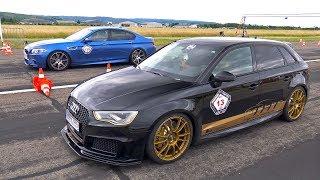 Audi RS3 Sportback 8V w/ BULL-X Exhaust! CRAZY REVS & ACCELERATIONS!