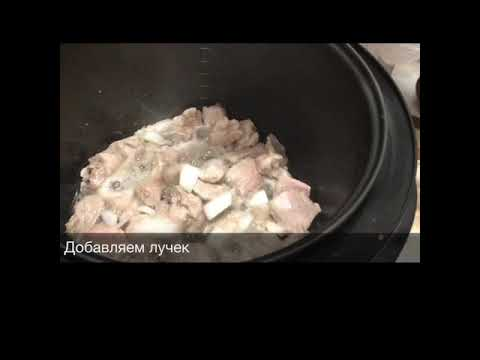 Вкуснейший плов из говядины в мультиварке😋😋😋