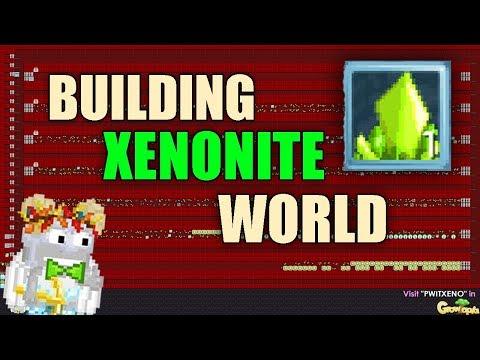 Growtopia | Building Xenonite Help Break World