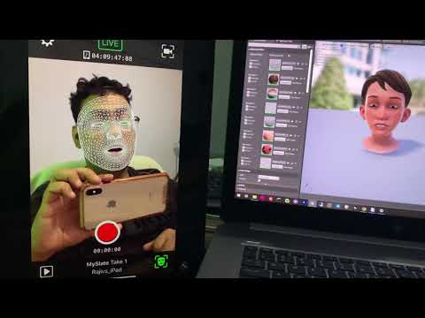 Live Link Face IOS App IPad Pro With Unreal Engine 4.25