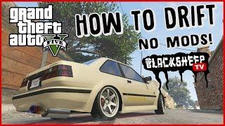 GTA 5 - How To Drift For Beginners - Best Tutorial - NO MODS