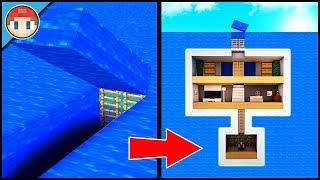 Minecraft: How to Build an Underwater Secret Base Tutorial (#9) - Easy Hidden House