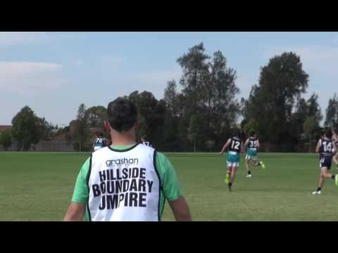 EDFL U15 B, Practice Match, 26 08  17, Hillside vs Hoppers Crossing