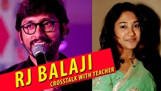 RJ Balaji Cross Talk with Class Teacher | 2016 Hits | Sema Kalai