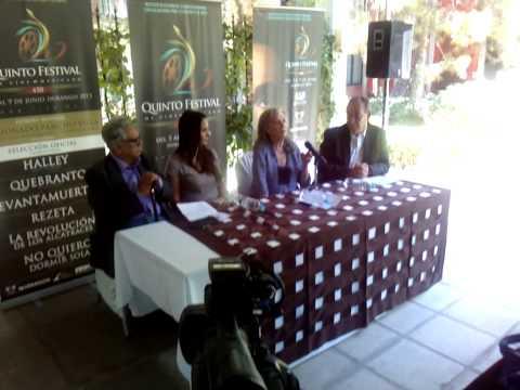 Isela Vega en el Quinto festival Internacional de Cine