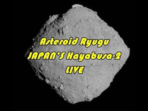 Japanese Hayabusa-2 landing on Asteroid Ryugu NOW