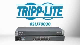 Minicom by Tripp Lite 16-Port Remote KVM Switch 0SU70030