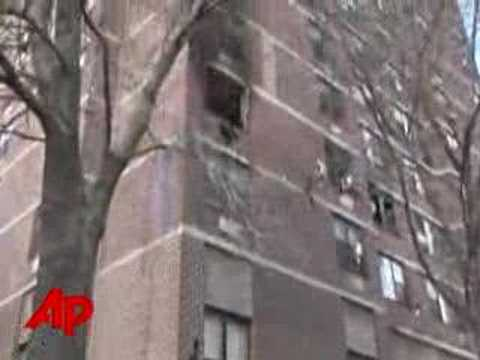 Manhattan High-rise Fire Injures Dozens