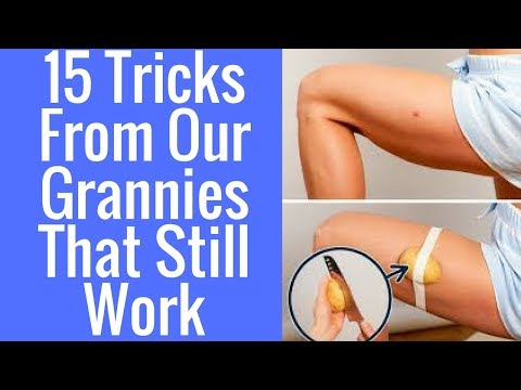15Tricks From Our Grannies That Still Work