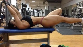 AWESOME WOMAN TRAINING - HOT GIRLS WORKOUT (Sports Ladies In Gym) Female Fitness Motivation 2017