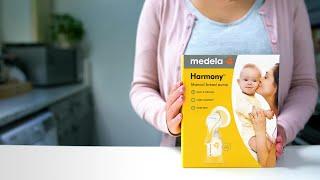 Video: Medela Harmony Standart Manual Breast Pump