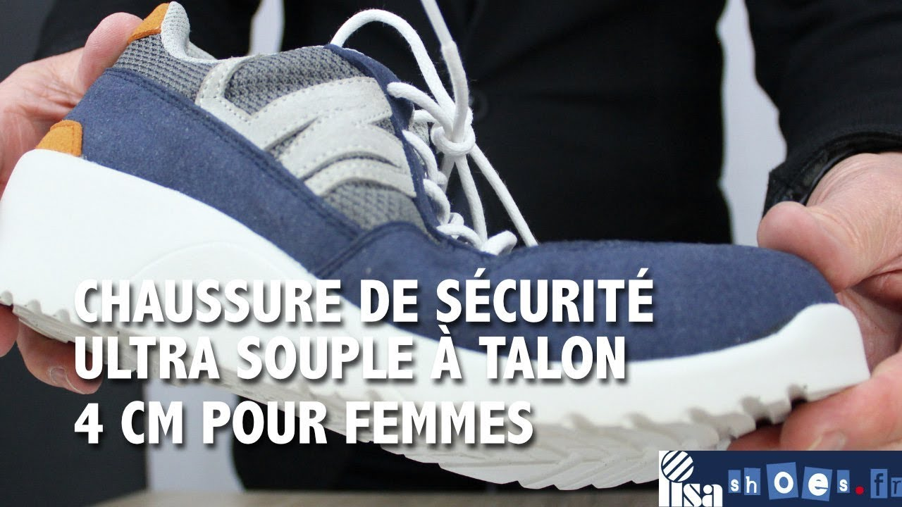 meilleure sélection 9af1f 43a66 CHAUSSURE DE SÉCURITÉ LAURIE NORDWAYS A TALON LISASHOES