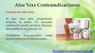 Aloe Vera Contraindicaciones