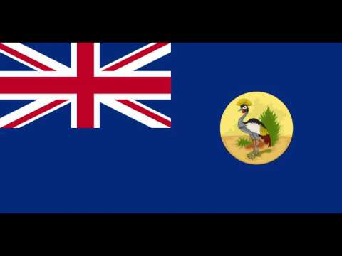 The anthem of the British Protectorate of Uganda
