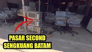 Berburu Barang Second Meja, Kursi, Dan Karpet Di Pasar Second Sengkuang Batam