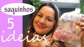 05 ideias com saquinhos de tecido, por Camila Camargo